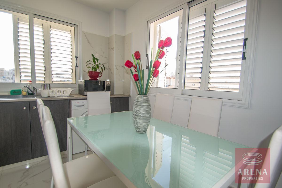 Apartment with large veranda - dining area