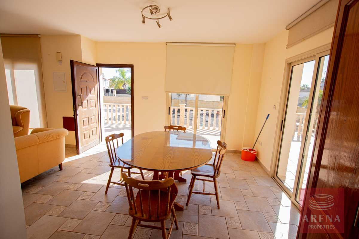 House in Ayia Thekla - dining room
