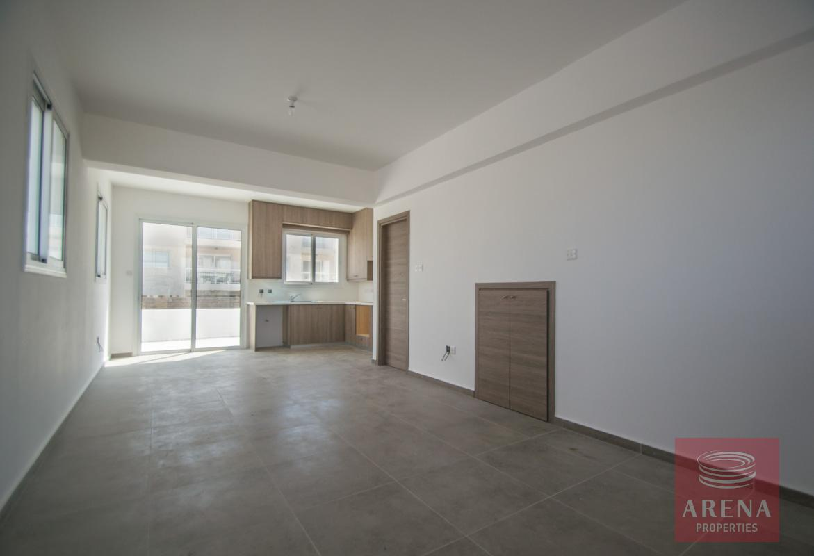 semi-detached house in kapparis - living area
