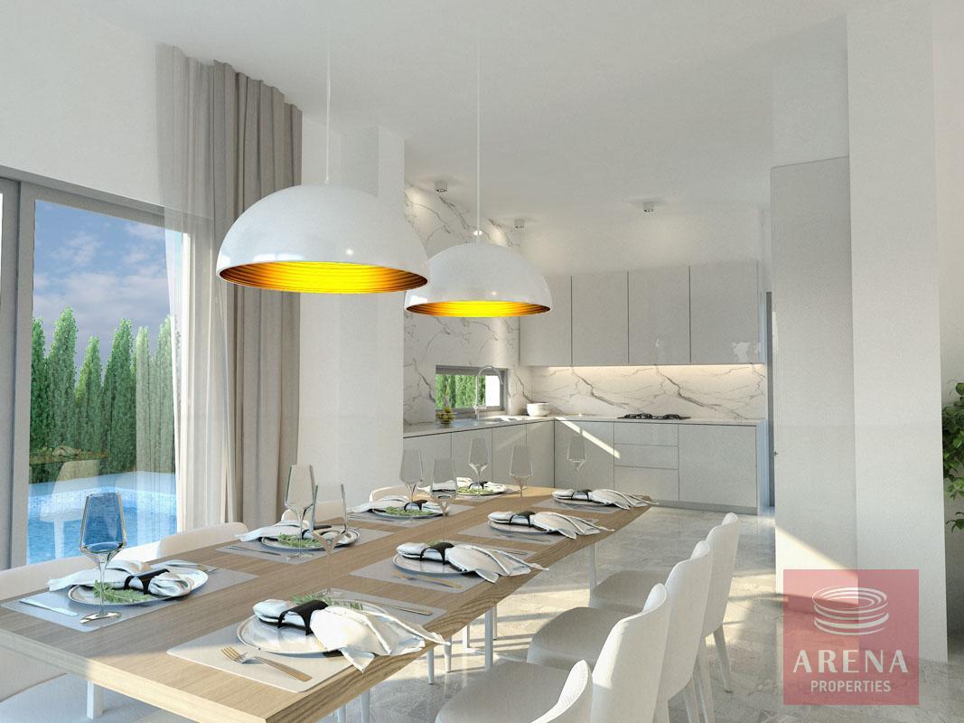 villa in Frenaros for sale - dining area