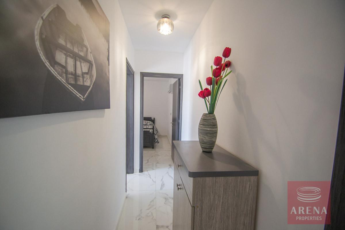 Apartment with large veranda - hallway