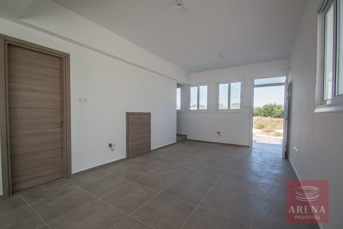 semi-detached house in kapparis - living room