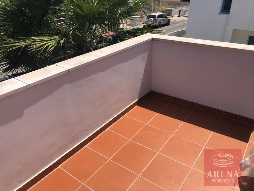 2 bed villa in pervolia - balcony