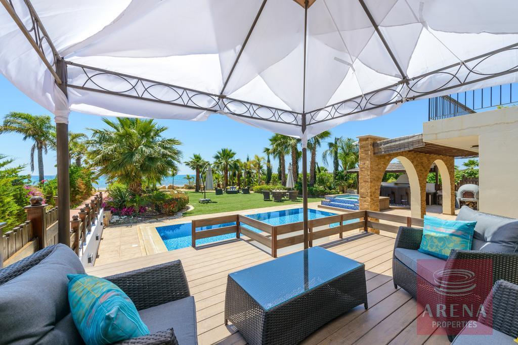 villa in ayia thekla - pool