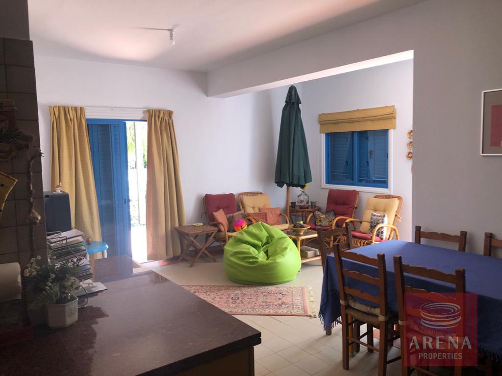 2 bed villa in pervolia - living area