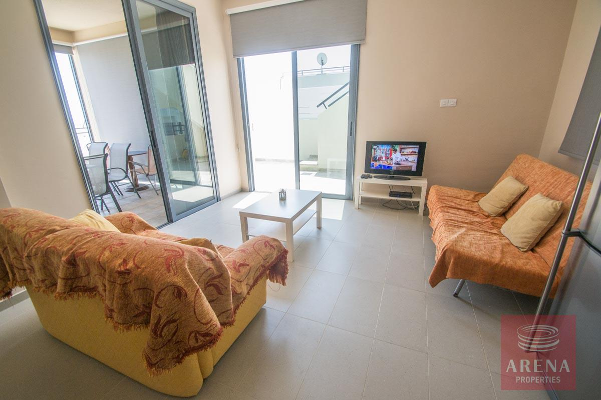 3 bed penthouse in kapparis - living room