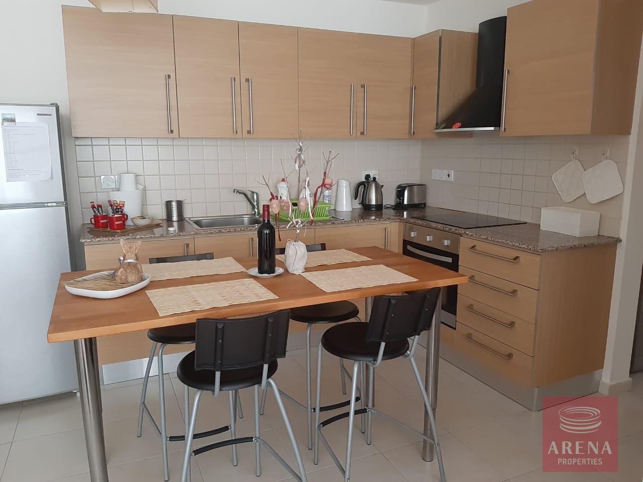 apt in mazotos for rent - kitchen