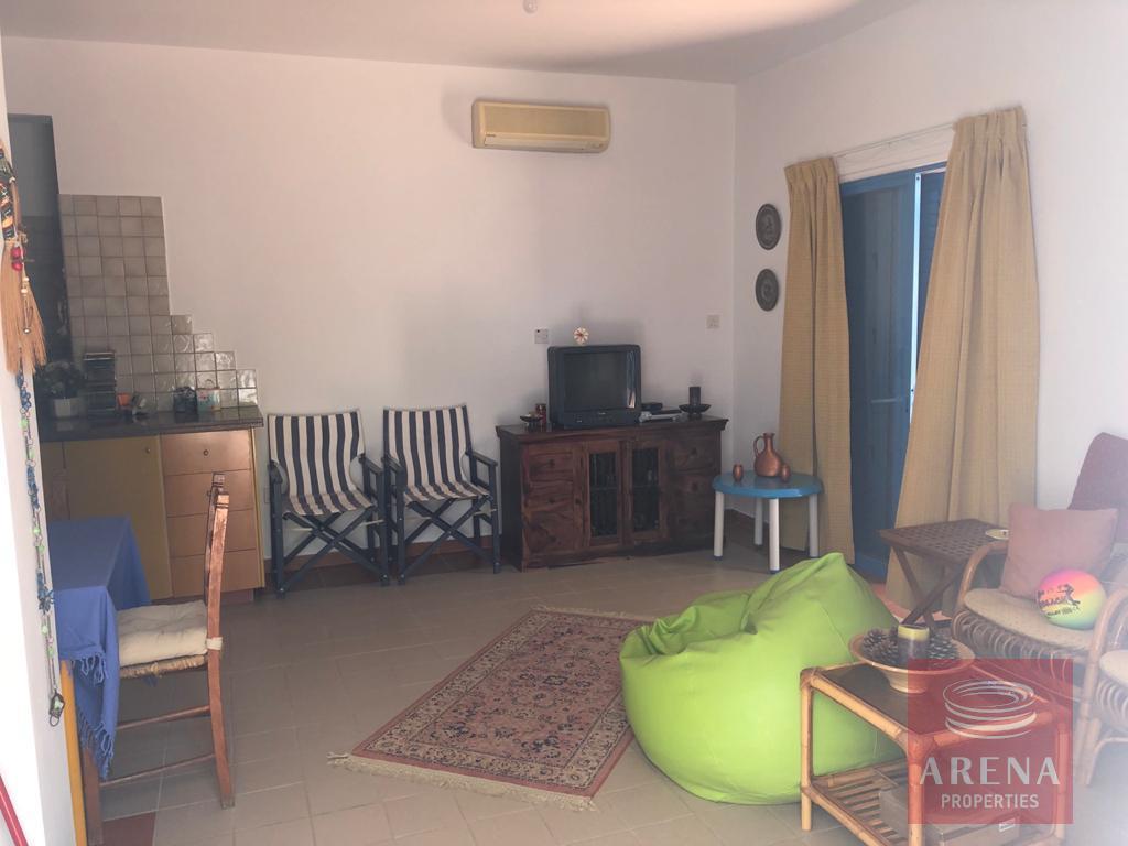 2 bed villa in pervolia - living room