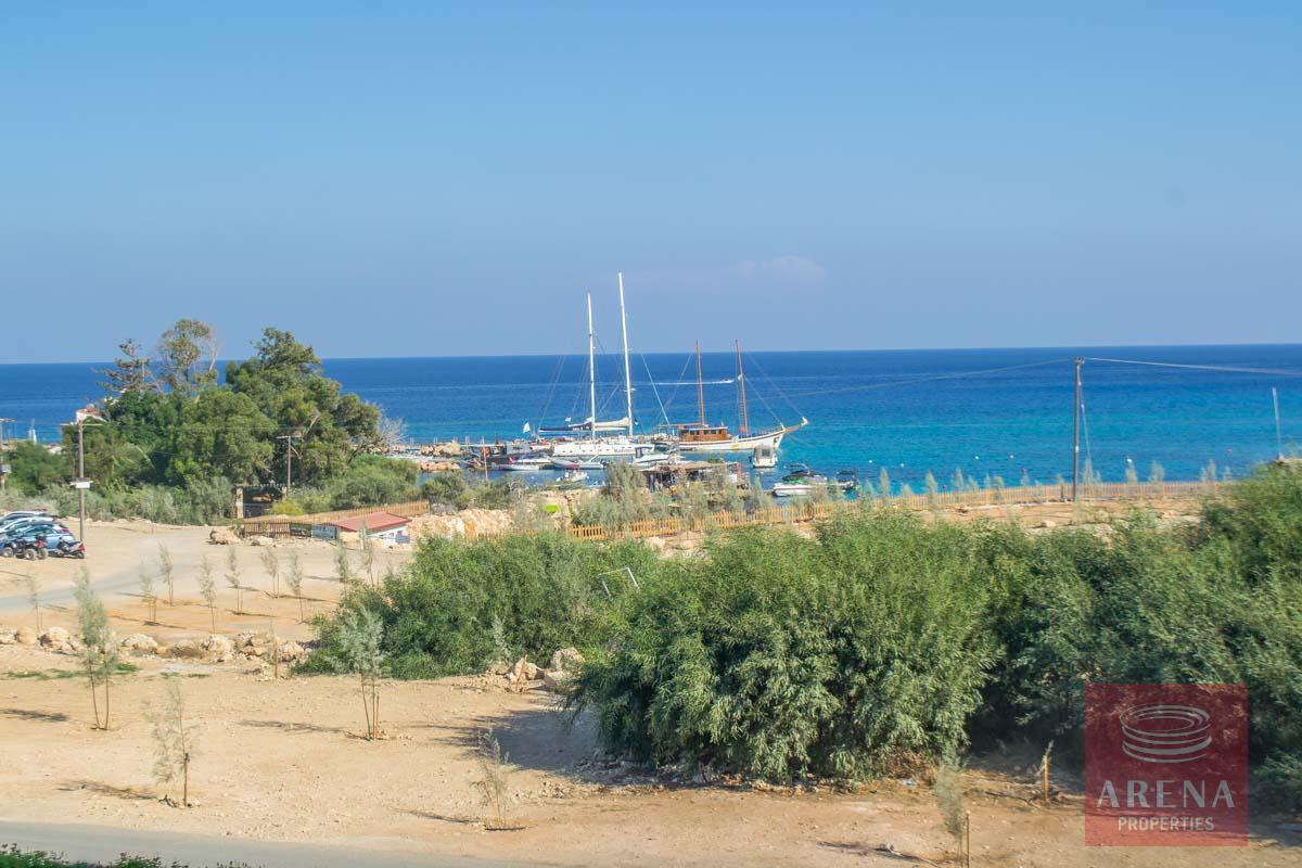 beachfront apartment in Protaras - sea views