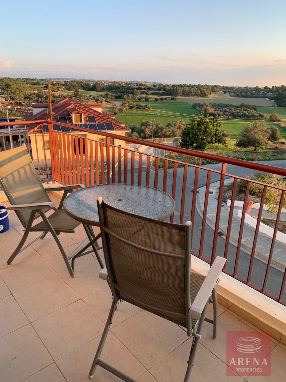 apt in mazotos for rent - balcony