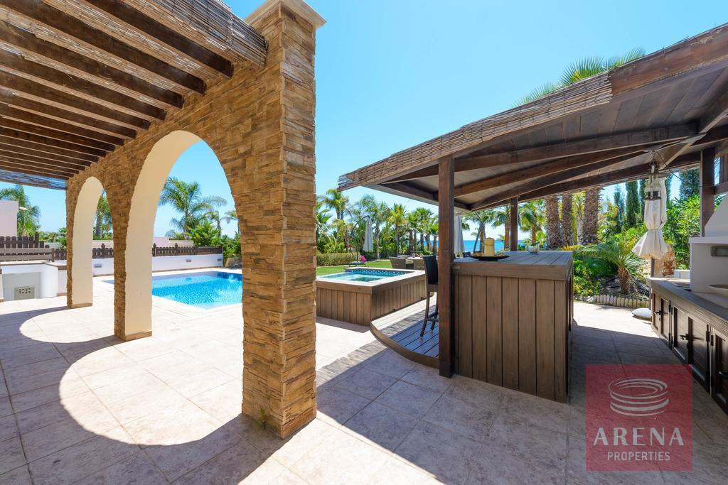 house in ayia thekla - pool