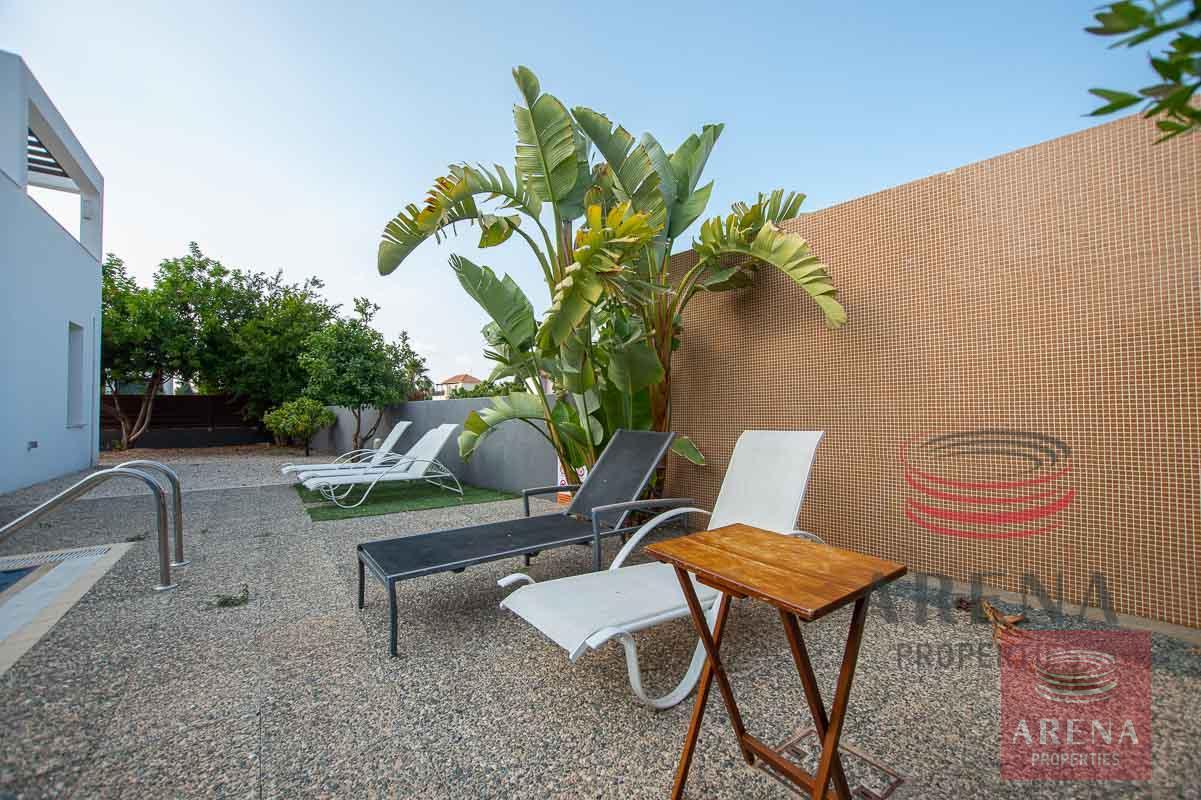 3 bed villa in ayia thekla - pool area