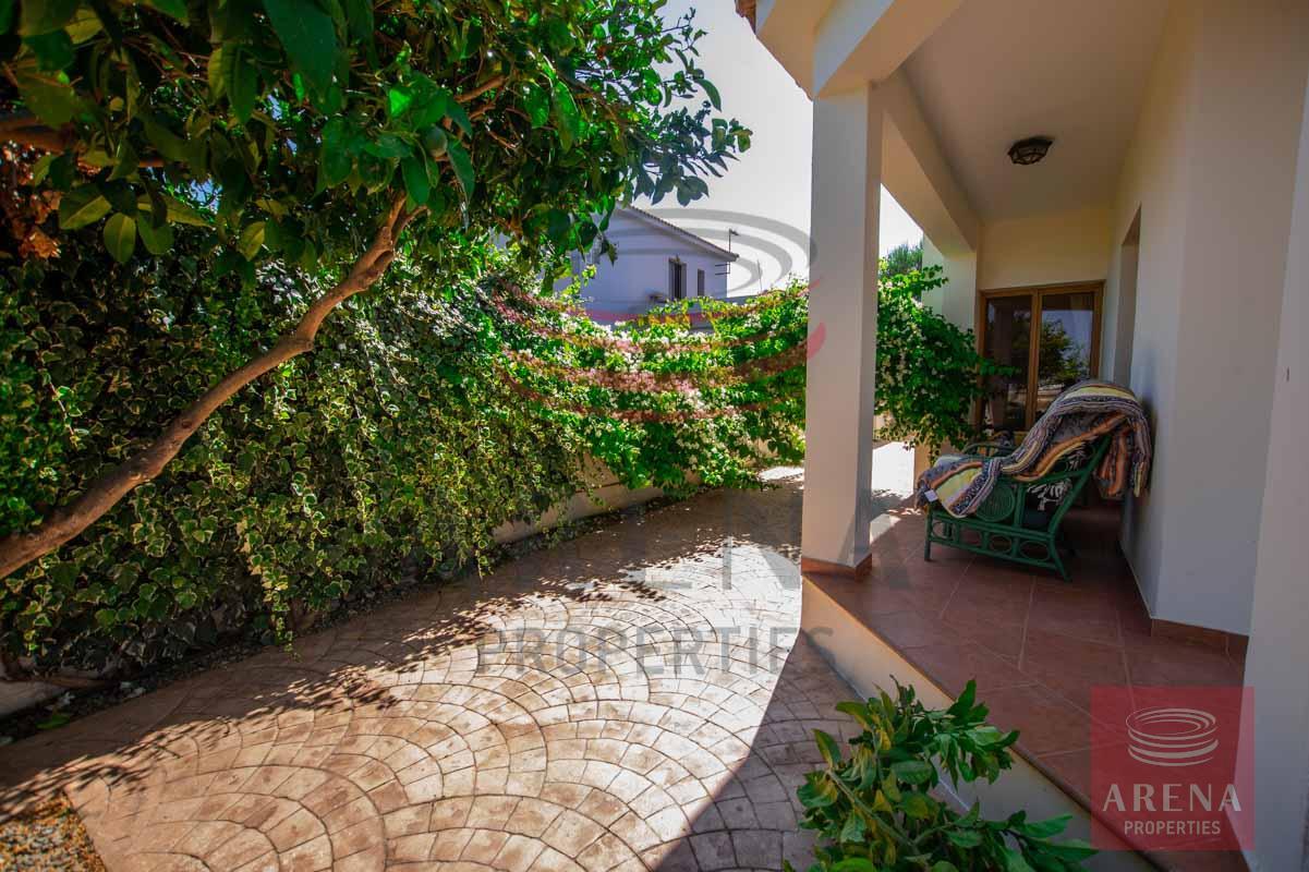 3 Bed villa in Sotira - veranda
