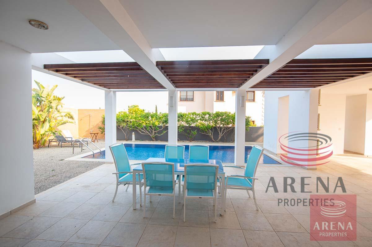 3 bed villa in ayia thekla - veranda