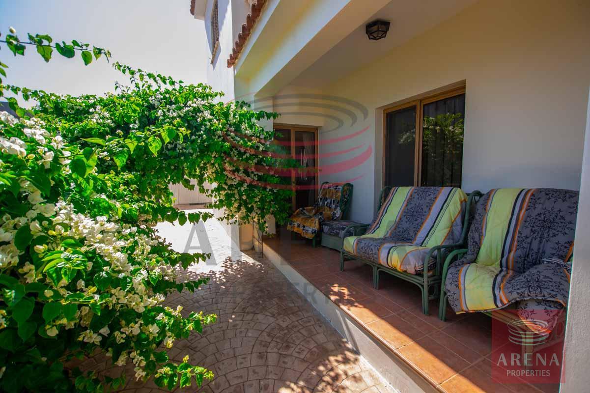 3 Bed villa in Sotira for sale - veranda
