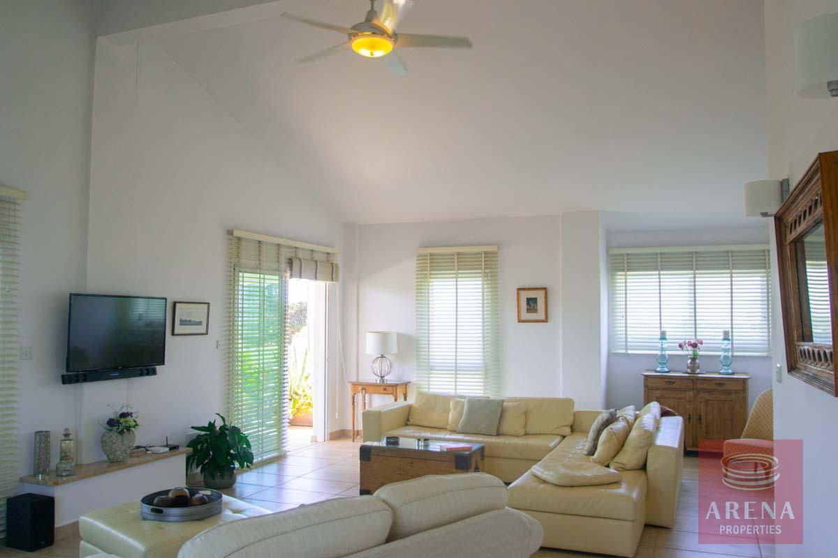 villa in softades - living area