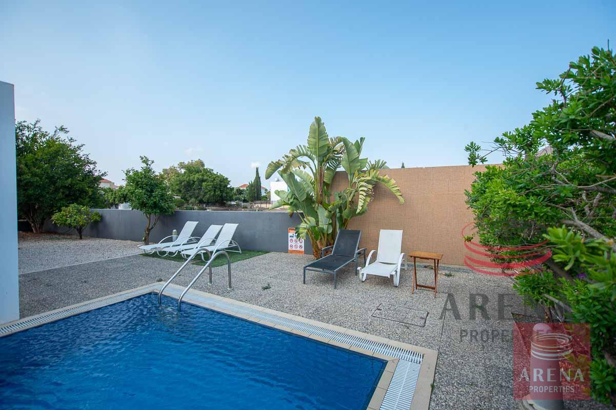 villa in ayia thekla - pool area