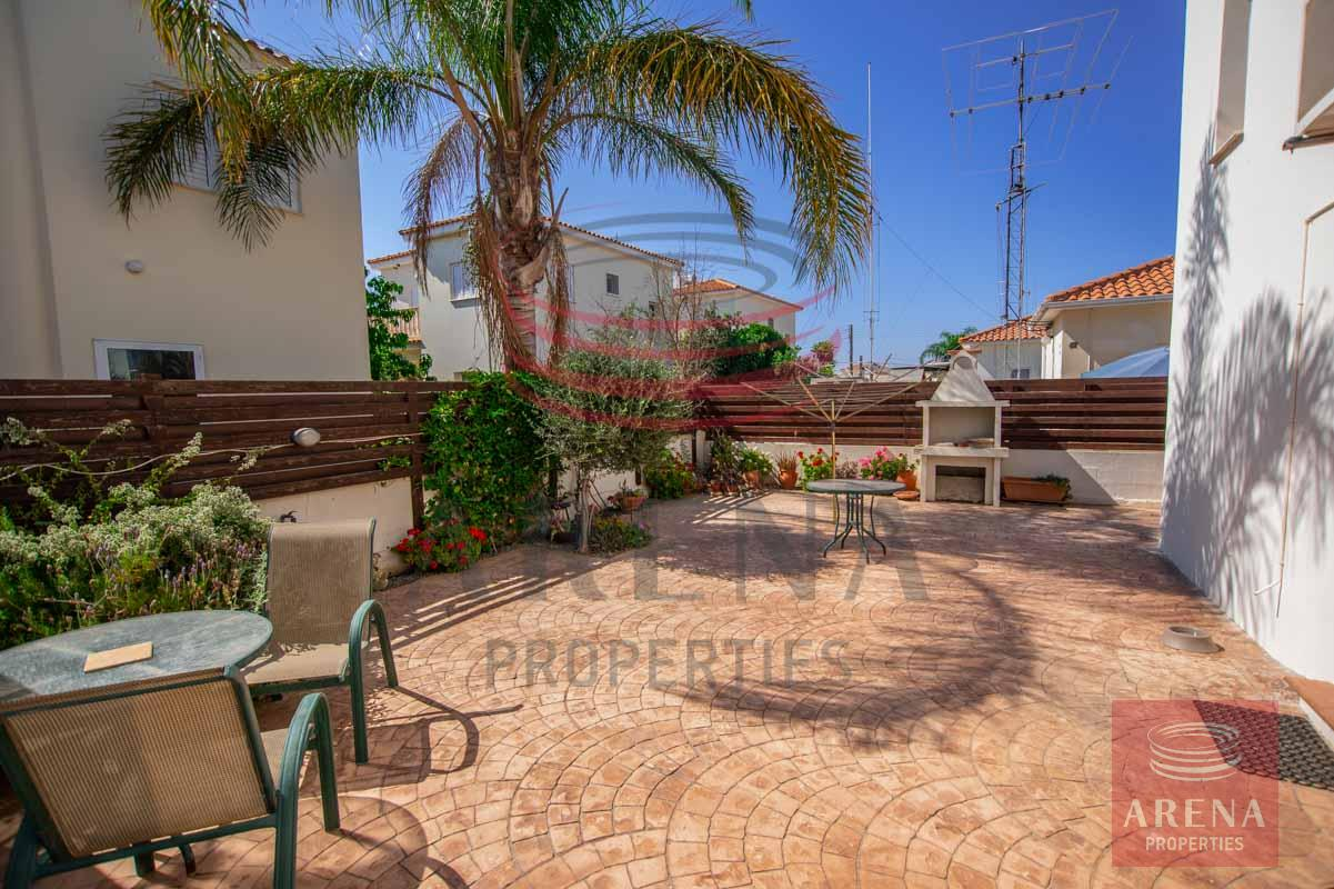 3 Bed villa in Sotira - back of the house