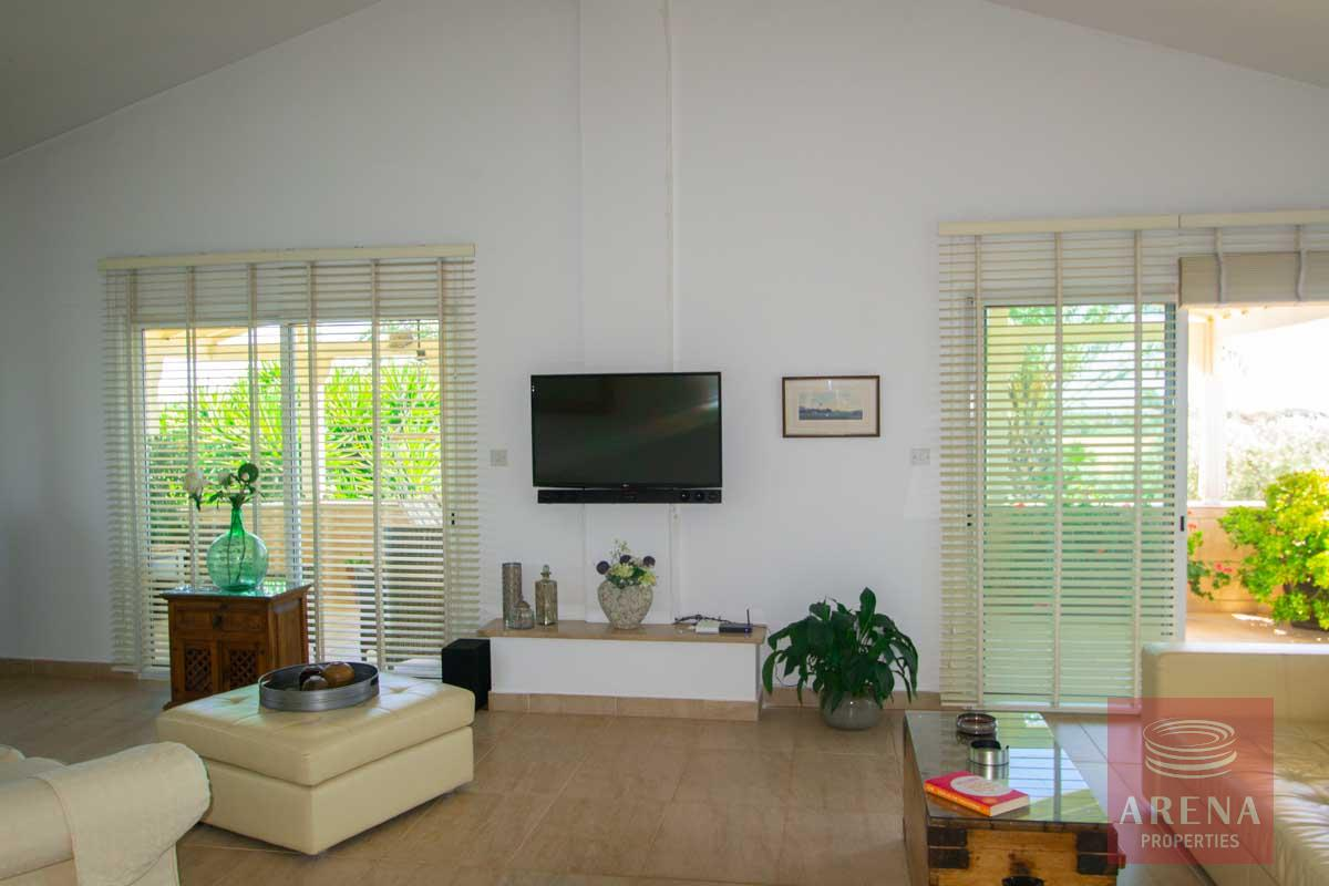 villa in softades - sitting area