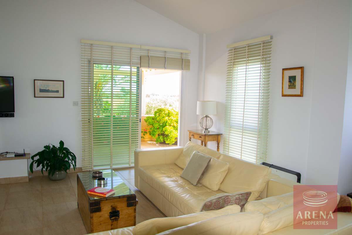 villa in softades to buy - living room