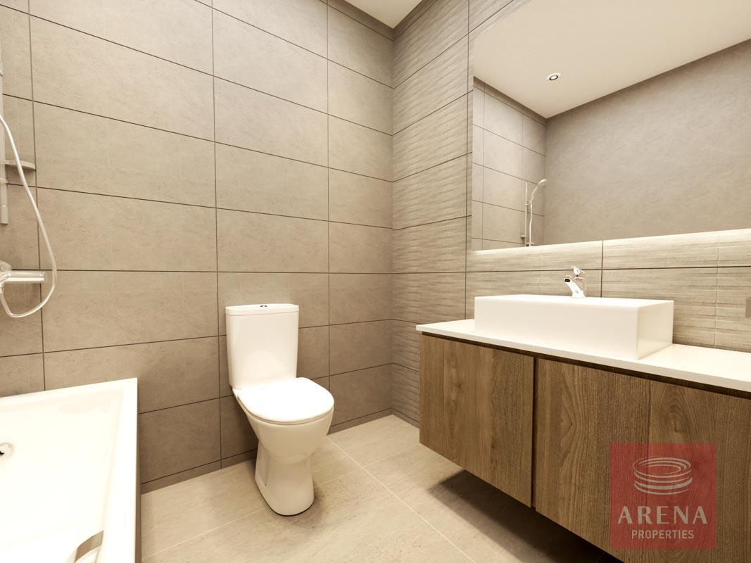 2 Bed flats in Larnaca - bathroom