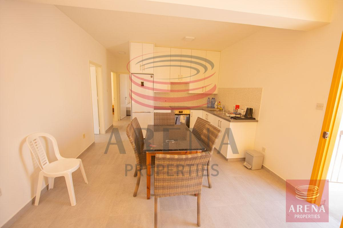 Apartment for rent in Paralimni - dining area