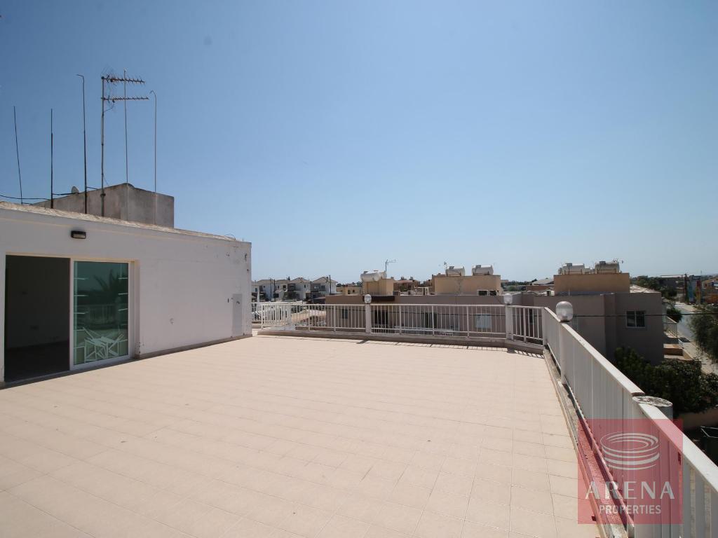 Flat in Sotira - veranda