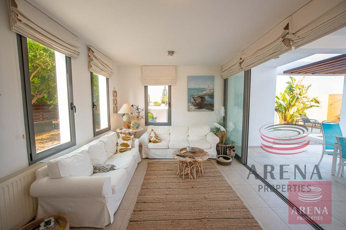 3 bed villa in ayia thekla to buy - living area