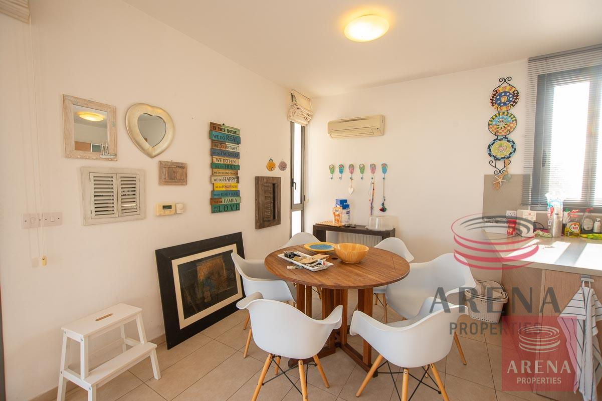 3 bed villa in ayia thekla - dining area