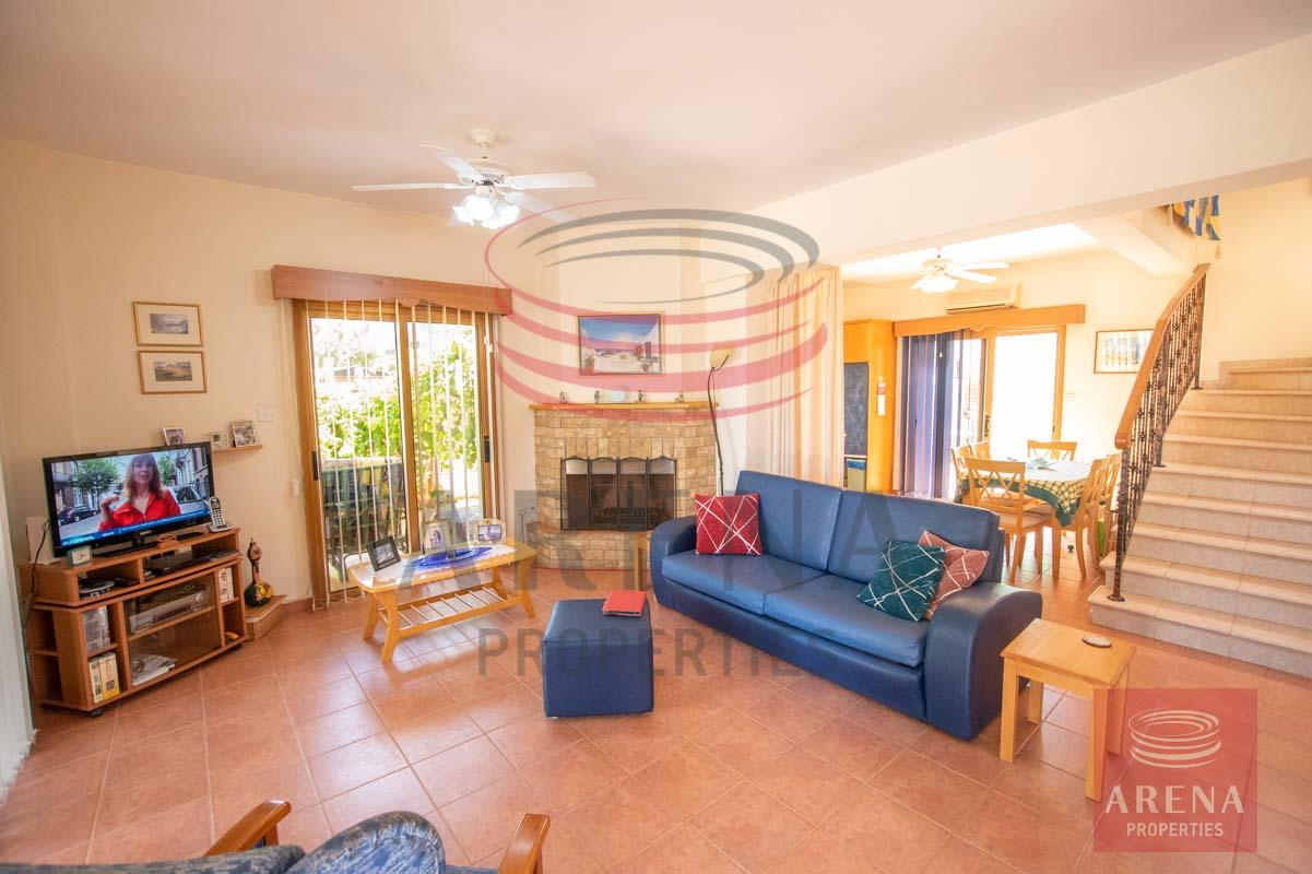 3 Bed villa in Sotira to buy - sitting area