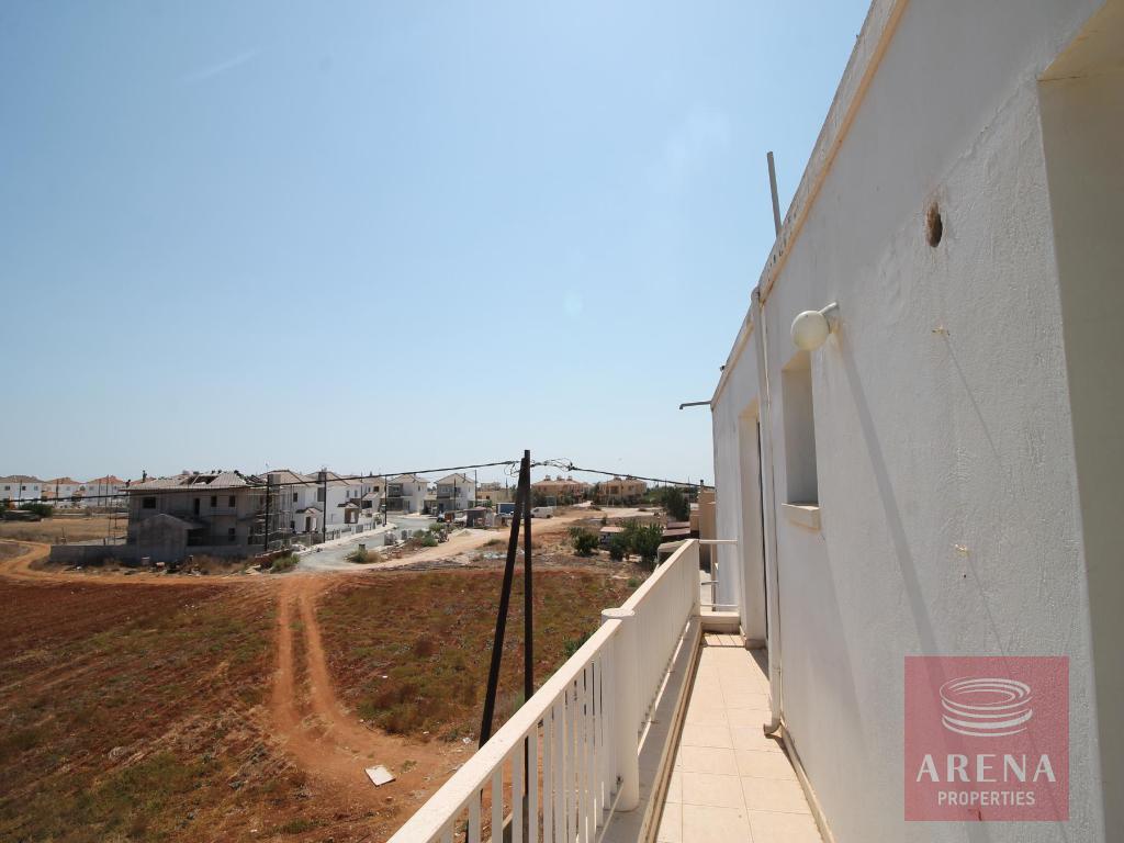 Flat in Sotira - balcony