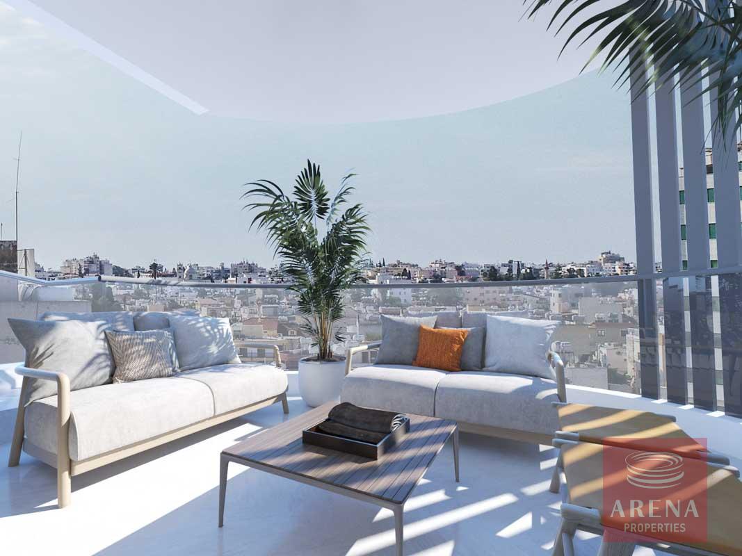 2 Bed flats in Larnaca - veranda