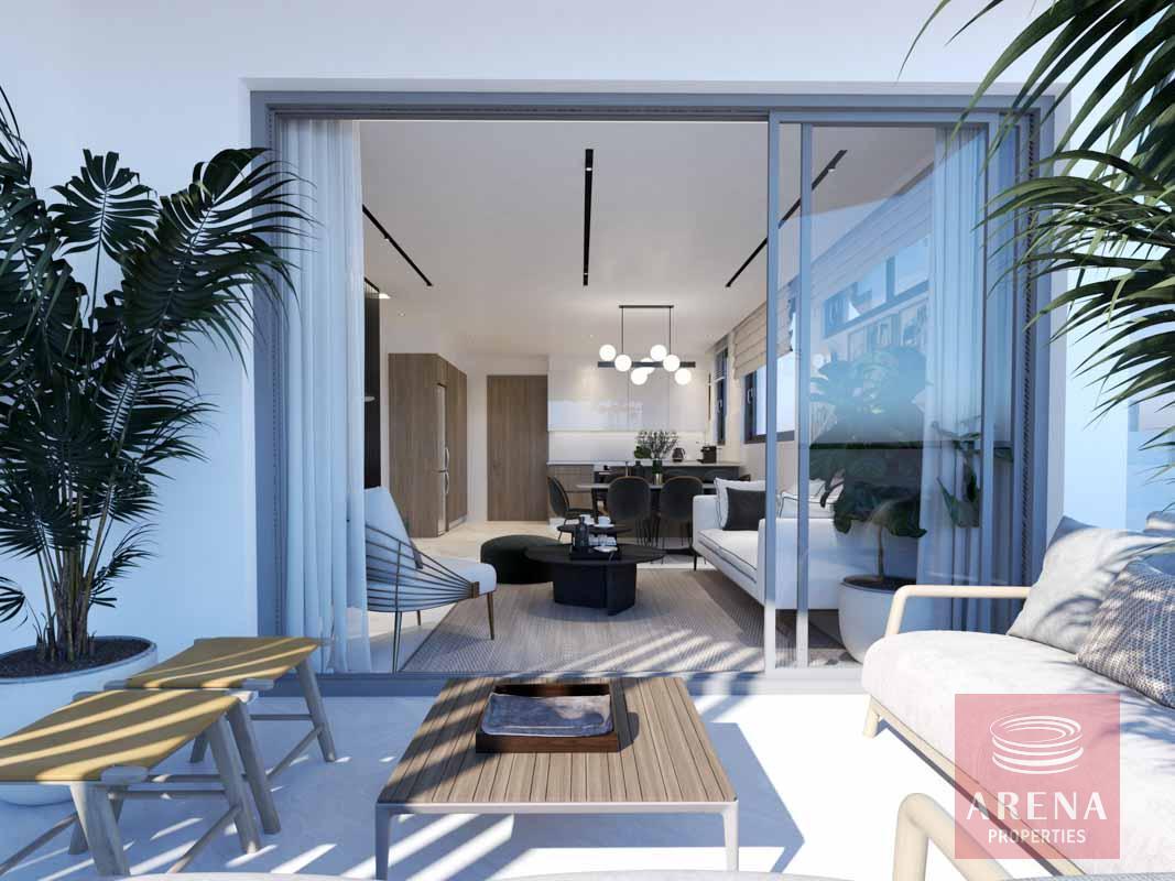 2 Bed flats in Larnaca - balcony
