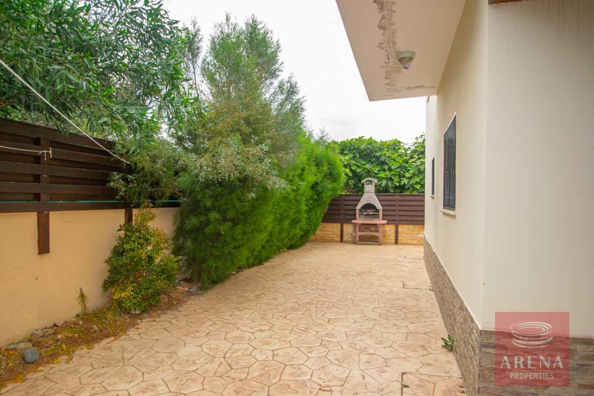 3 Bed Villa in Pernera - back yard