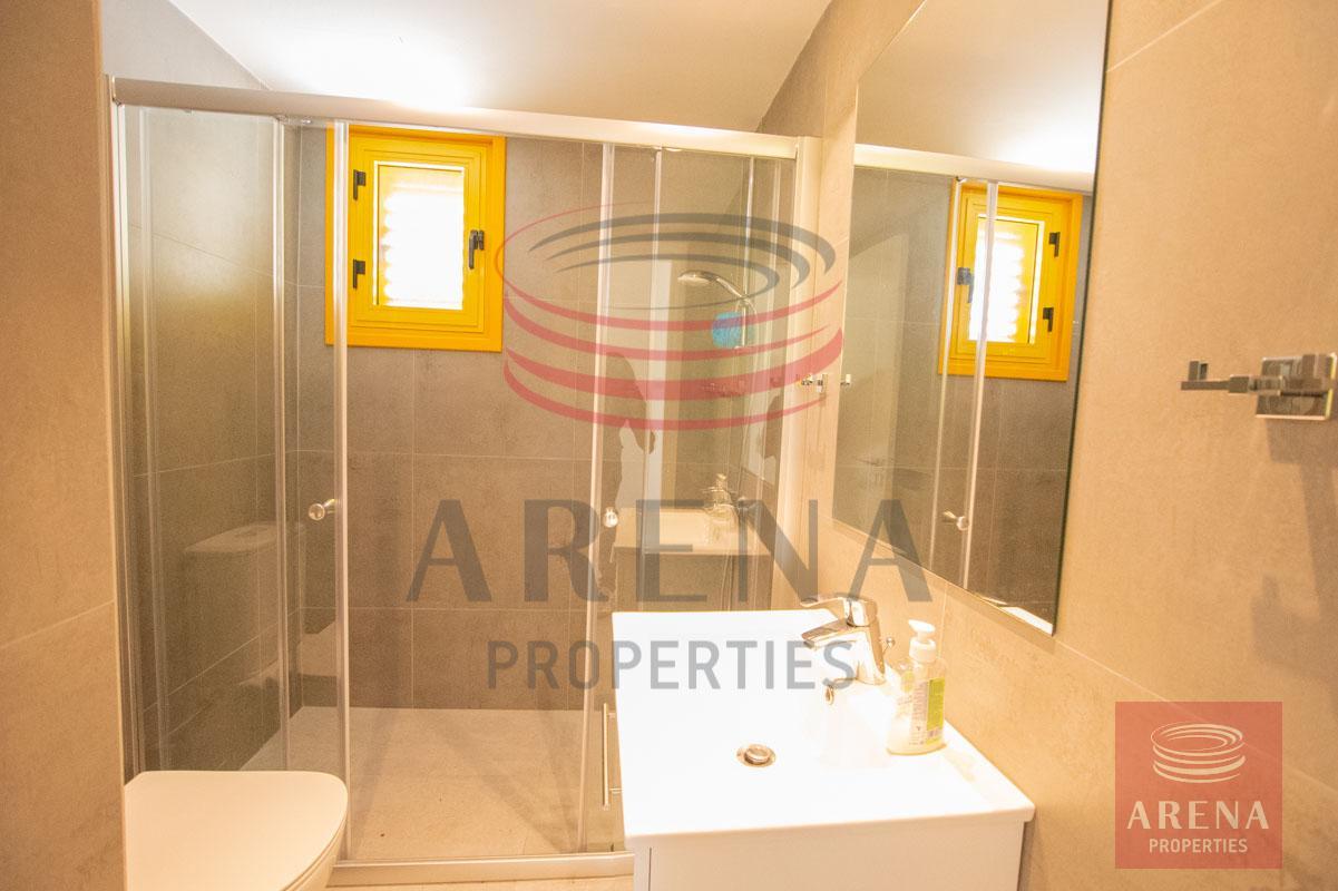 Apartment for rent in Paralimni - bathroom