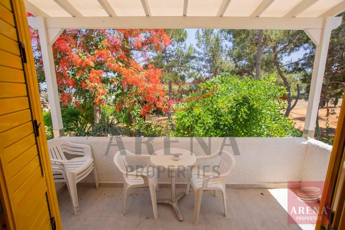 Apartment for rent in Paralimni - balcony