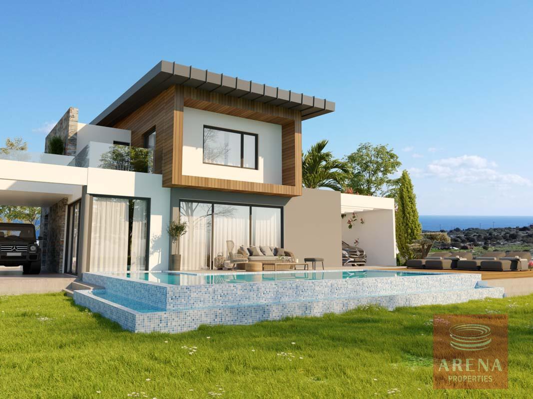 4-5 Bed villa in Protaras