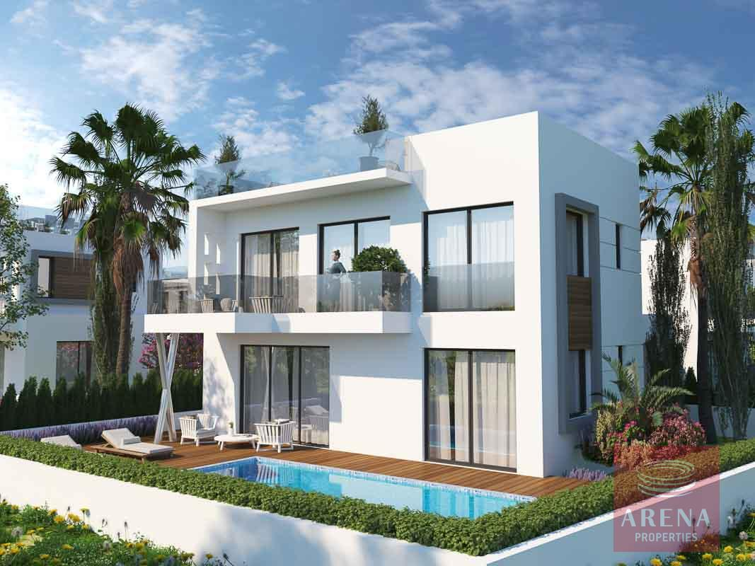 New villas in Protaras