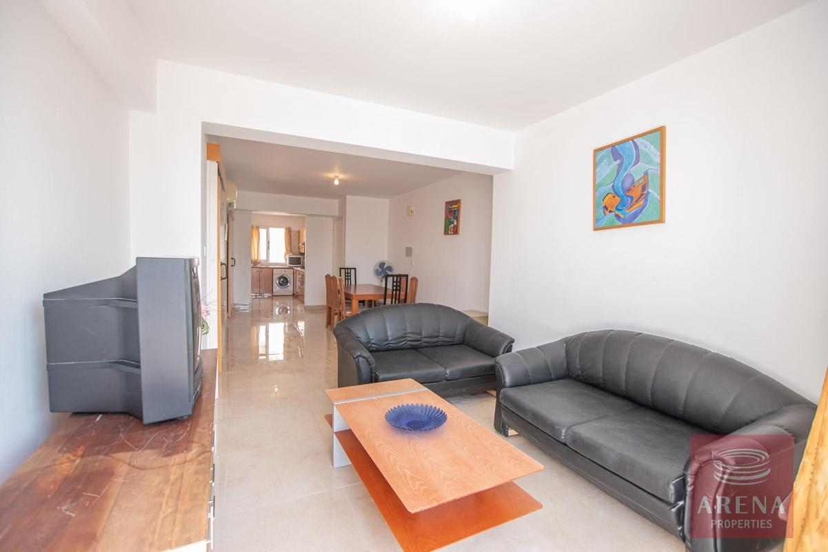 3 Bed Apt in Kapparis for sale - living area