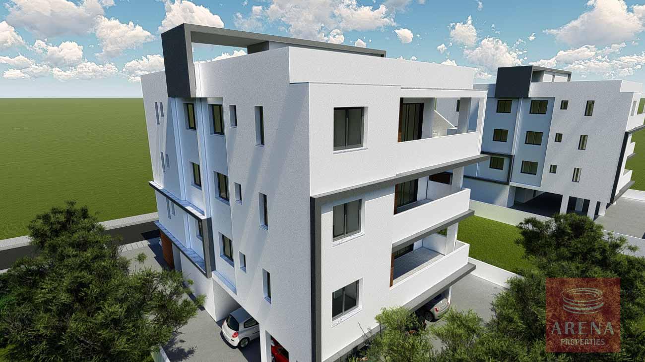 new block of apartments in Aradippou
