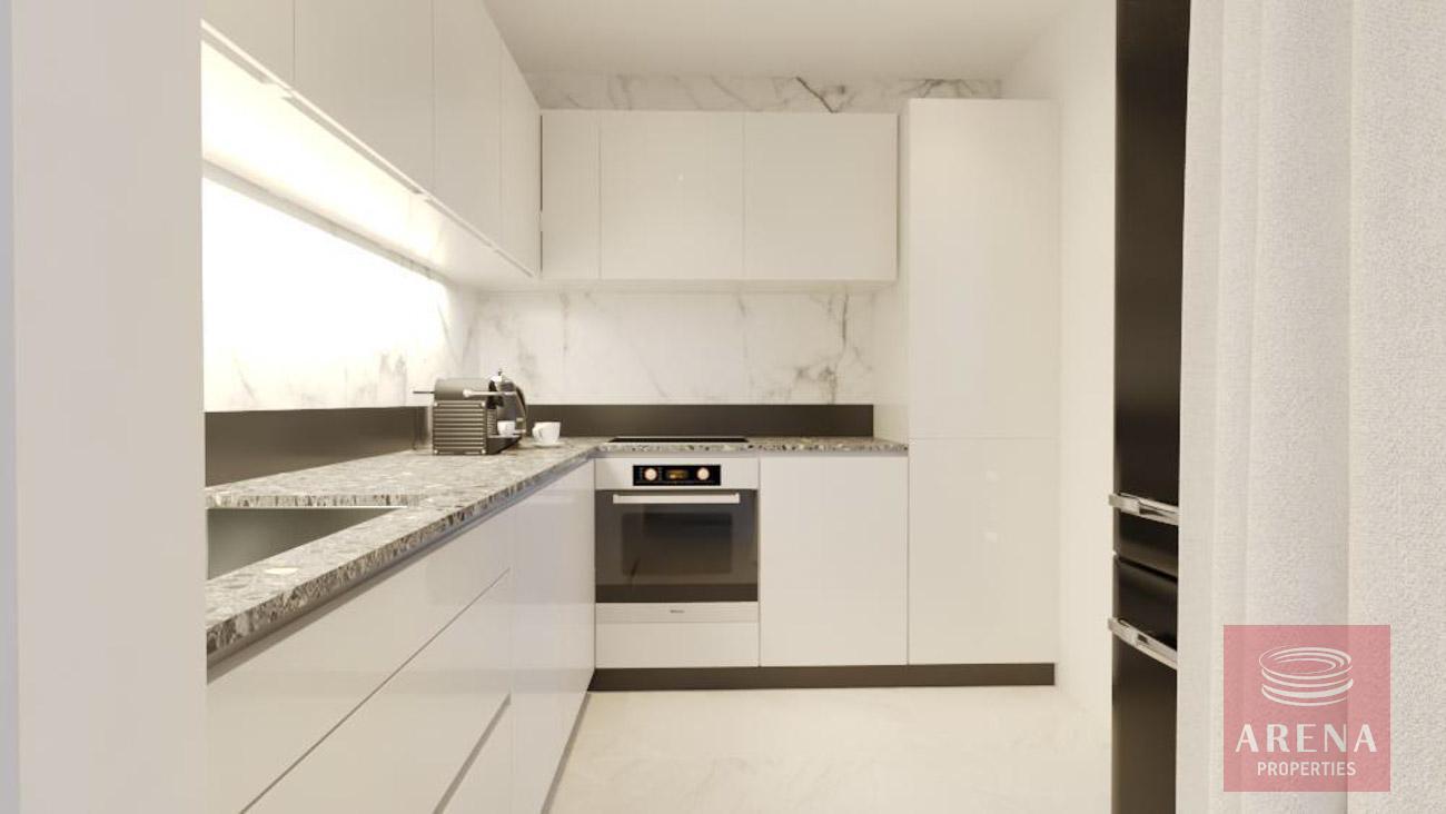 2 bed apt in drosia - kitchen