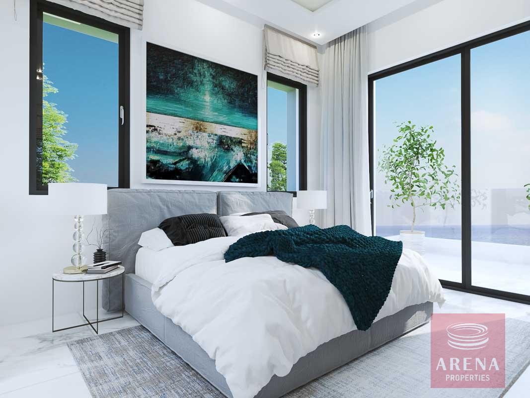 New villas in Protaras - bedroom