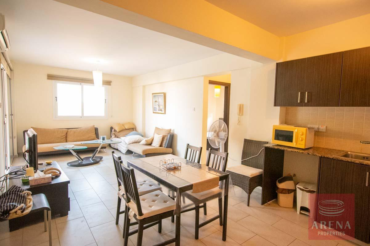 Apartment for rent in Kapparis - dining area