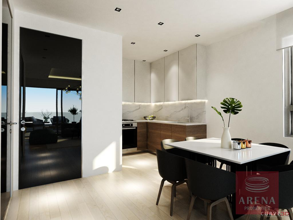 Apartments for sale in Larnaca - kitchen
