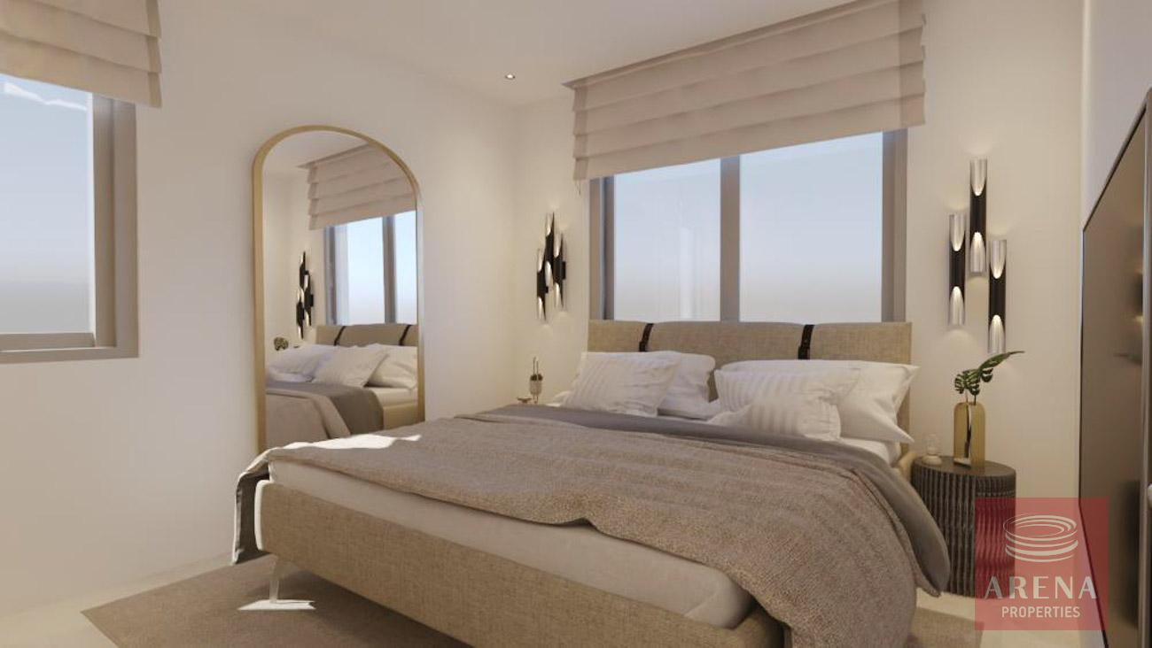 1 bed apt in drosia - bedroom