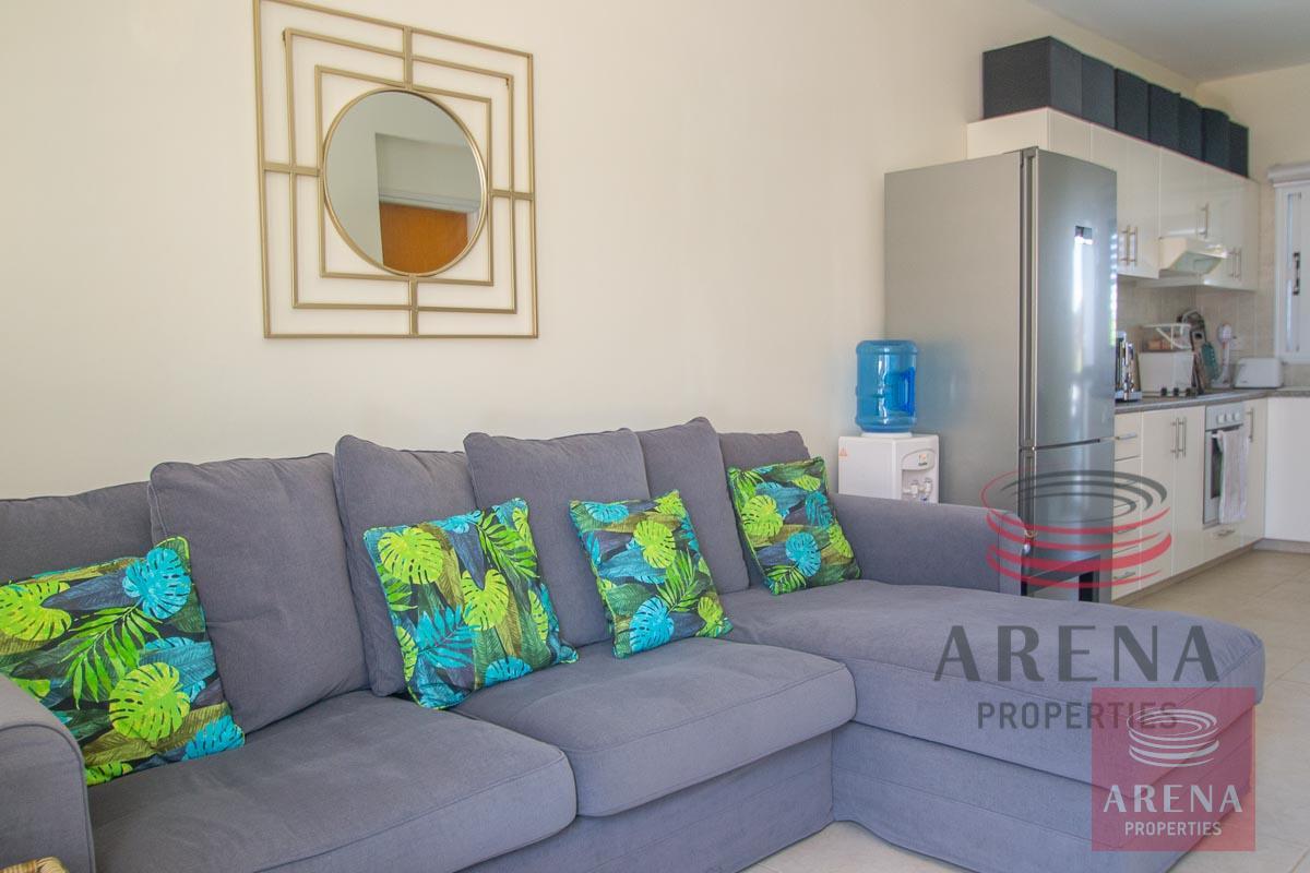 2 Bed Villa in Pernera - sitting area