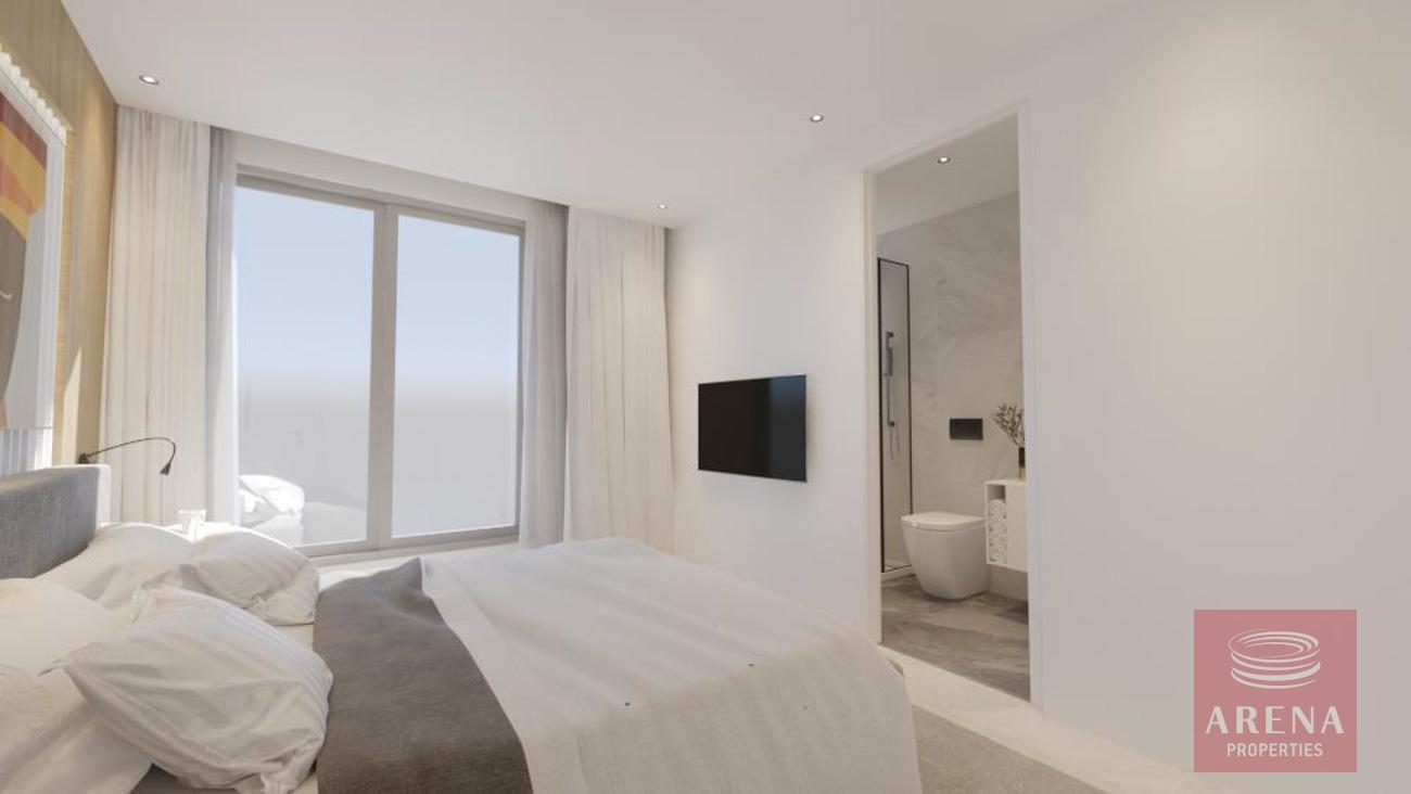 2 bed apt in drosia - bedroom