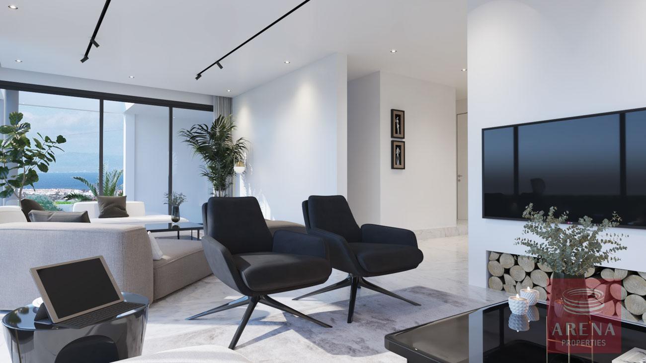 4-5 Bed villa in Protaras to buy - sitting area