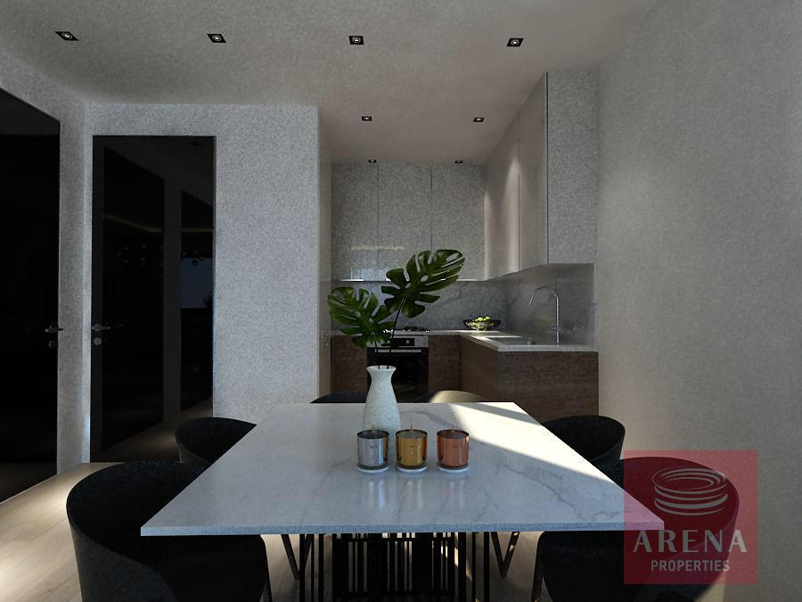 Apartments for sale in Larnaca - dining area