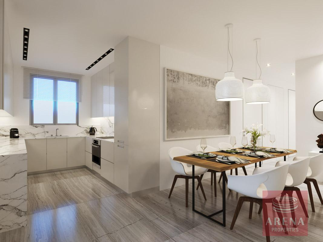 2 Bed Penthouse in Larnaca to buy - dining area